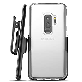 1x Samsung Galaxy S9 Plus Battery Case, 6000mAh External Portable Rechargeable Battery Pack Power Bank Extended Backup Protective Cover for Samsung Galaxy S9 Plus SM-G965U Black