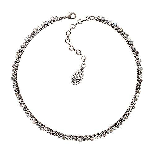 Konplott Damen Halskette Stone Rhythm Grau 5450543279565