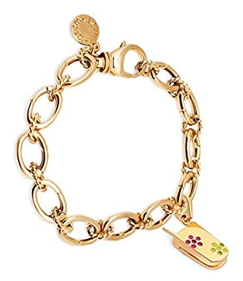 CHARMULET 14k Plated Gold Charm Bracelet and Charm Set Gift Box Included by Charmul/ét
