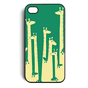 Giraffe Snap on Case Cover for Apple Iphone 4 Iphone 4s