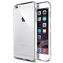 Spigen Ultra Hybrid iPhone 6 Plus Case with Air Cushioned Hybrid Drop Protection Clear Case for Apple iPhone 6 Plus - Crystal Clear