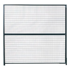 WireCrafters 58RW RapidWire Welded Steel Wire Mesh Panel, 5' Width x 8' Height, Gray by Wirecrafters (Image #1)