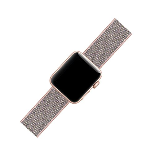 QIENGO For Apple Watch Band 38MM, Nylon Sport Loop with