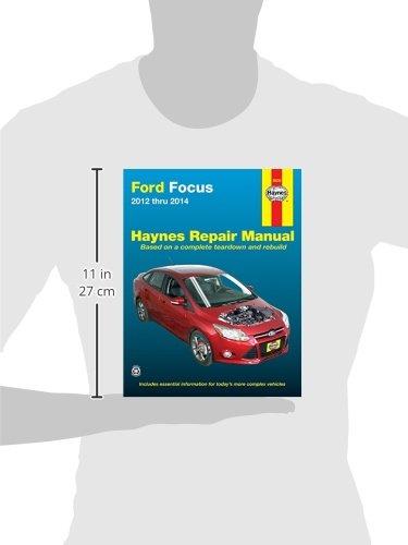 Ford Focus 12 14 2012 To 2014 Haynes Repair Manual Amazon Co Uk Haynes Publishing 9781620921227 Books