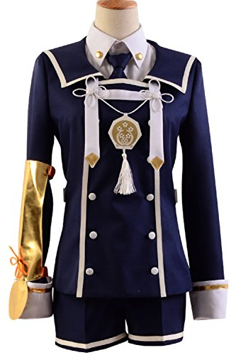 Gokotai Costume (Cosplaybar Cosplay Costume Touken Ranbu Gokotai Uniform Female M)