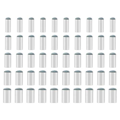 - SAVITA 50 Pieces Assorted Pool Billiard Cue Tips Pool Stick Tips Replacements Compatible with 9mm, 10mm, 11mm, 12mm, 13mm Cue Tips