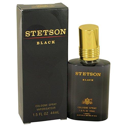 Stetson Black by Çòtý for Men Cologne Spray 1.5 oz ()