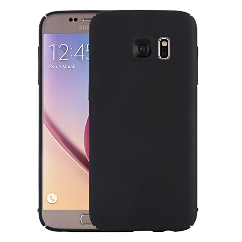 Price comparison product image Samsung Galaxy S6 Edge Plus Case Cover, Moonmini Slim Fit Ultra-thin Hard PC Full Body Protection Smooth Grip Back Case Cover Holder for Samsung Galaxy S6 Edge Plus (Black)