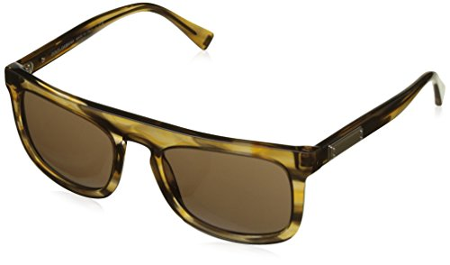 Dolce & Gabbana Men's Acetate Man Square Sunglasses, Striped Brown, 53 - Striped Gabbana Sunglasses Dolce And