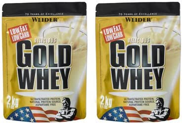 (2 Pack) – Weider Nutrition – Gold Whey Vanilla Fresh | 2000g | 2 Pack Bundle