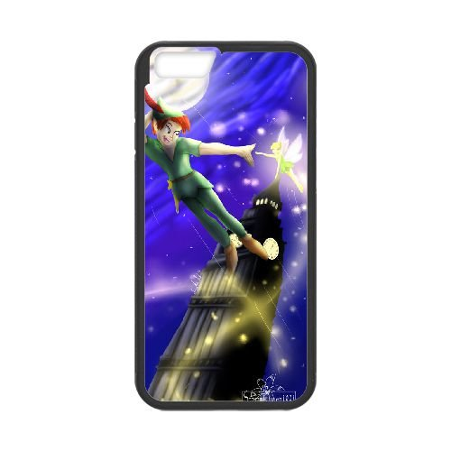 Peter Pan 014 coque iPhone 6 Plus 5.5 Inch Housse téléphone Noir de couverture de cas coque EEEXLKNBC19183