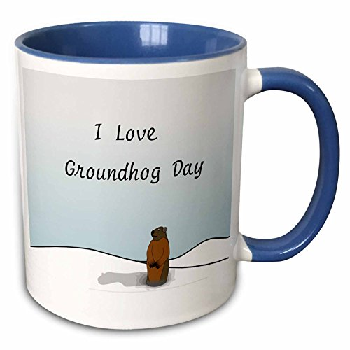 I Love Groundhog Day Mug