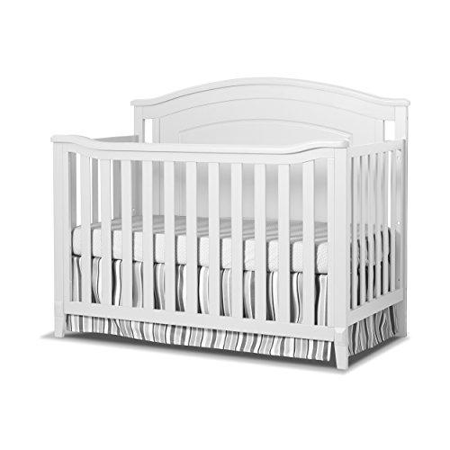 Sorelle Glendale 4-in-1 Convertible Crib, ()