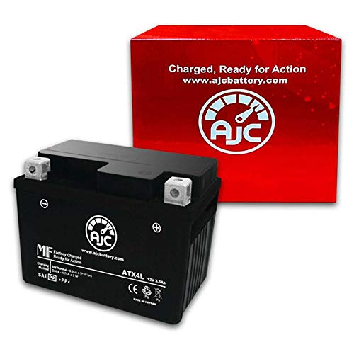 This is an AJC Brand Replacement 2011-2014 TAOTAO ATA-125H 125CC ATV Replacement Battery