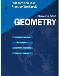 amazon com mcdougal littell high geometry notetaking guide rh amazon com Algebra 1 Notetaking Guide geometry notetaking guide answer key