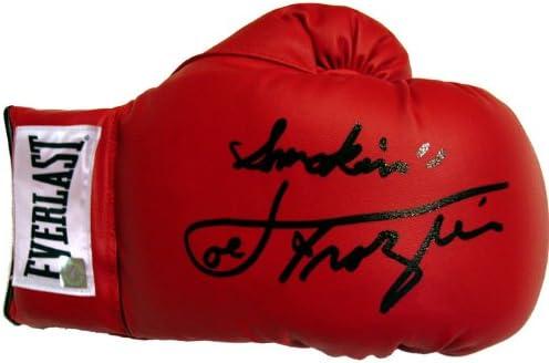 "B00AB62AGA Joe Frazier Signed Glove ""SMOKIN"" Inscription 41T3JGgBLDL."