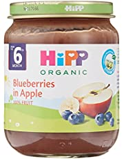 Hipp Organic Blueberries In Apple Jar, 125g