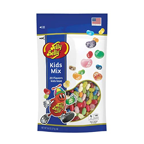 Mix Assorted Jelly Beans - Jelly Belly Kids Mix Jelly Beans, 20 Kid-Friendly Flavors, 9.8-oz
