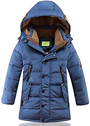 Alovelycloud Winter Jackets Duck Down Padded New Big Boys Warm Winter Down Coat Thickening Outerwear