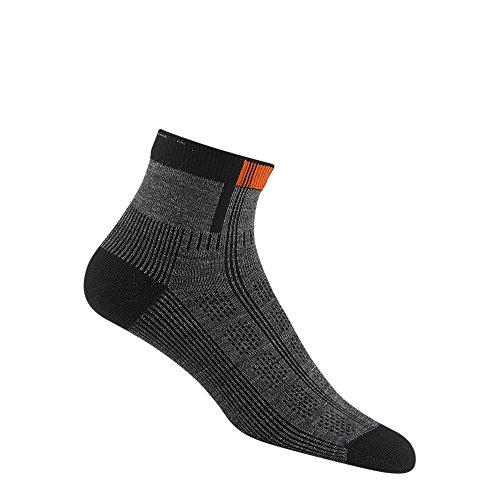 Wigwam Rebel Fusion Quarter II Socks Charcoal LG