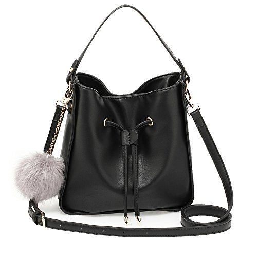 Latest New Handbag Use Small Women For Charm Bag Shoulder Drawstring Style Fur Size Everyday With Designer Ladies O7ttwfq