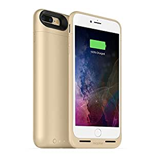 mophie juice pack wireless  - Charge Force Wireless Power - Wireless Charging Protective Battery Pack Case for iPhone 7 Plus – Gold