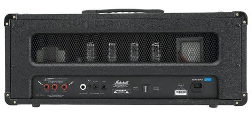 Marshall DSL Series DSL100H 100-Watt All-Tube Guitar Amplifier Head - Black by Marshall Amps