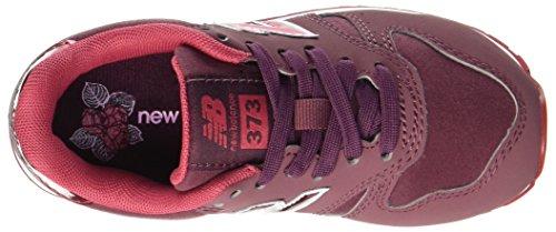 New Balance 373v1, Zapatillas Unisex Niños Rojo (Burgundy)