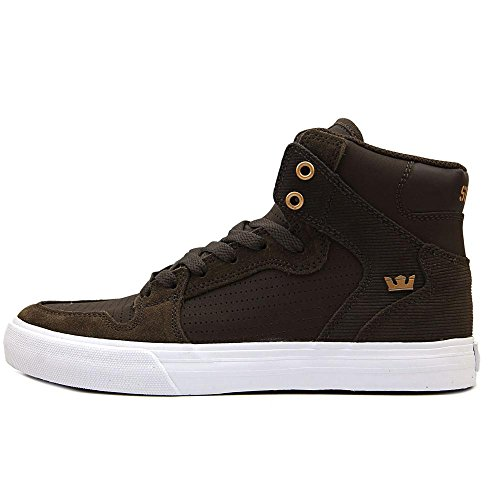 Supra Vaider S28058, Baskets mode homme Demitasse/Copper