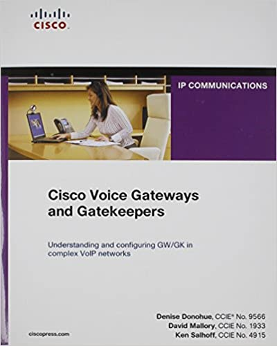 Cisco Voice Gateways and Gatekeepers (paperback) (Networking