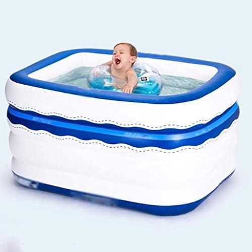 インフレータブルプールホットタブ浴槽は電動エアーポンプインフレータ折りたたみ耐久性のある大人の入浴浴槽の浴槽を膨らま