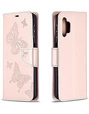 Hoesje voor Samsung Galaxy A32 5G 6.5inch Wallet Book Case, Magneet Flip Wallet Beschermende Telefoonhoes met Kaarthouders slots schokbestendige Samsung Galaxy A32 5G - JEBF260058 Gouden