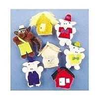 Melody House Three Little Pigs Monkey Mitt Set