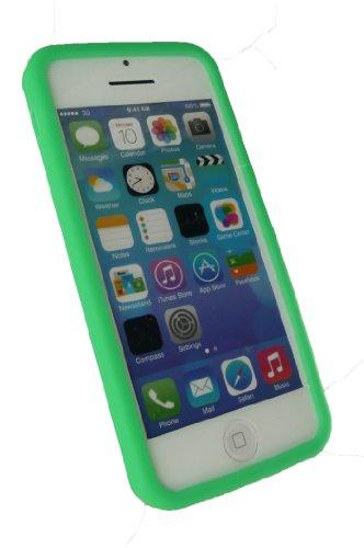 Emartbuy® Apple Iphone 5c Silicon Skin Cover / Schutzhülle Grün
