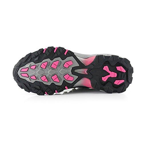 antidérapant avec randonnée respirant caoutchouc d'extérieur Amortissement Chaussures imperméable Rosa Chaussures randonnée de de randonnée Chaussures Bottes Trekking femme de semelle pour 8OfqZ