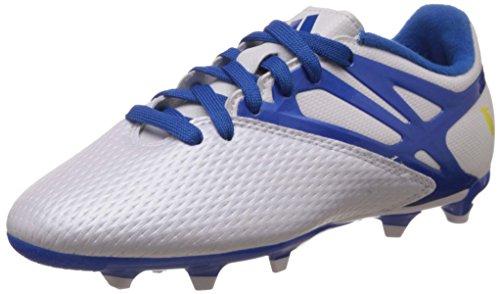 d0e9bfda5 adidas Messi 15.3 FG AG White Junior Soccer Cleats