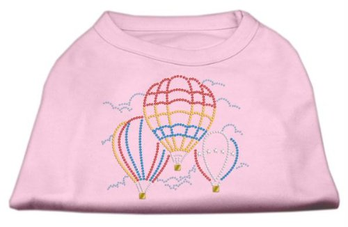 Mirage Pet Products Hot Air Balloon Rhinestone Pet Shirt, 3X-Large, Light Pink from Mirage Pet Products