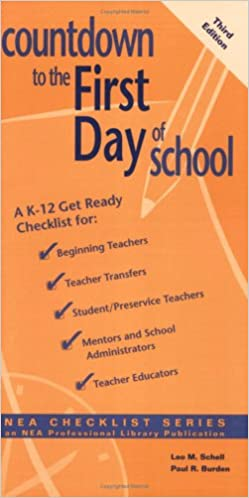 Countdown to the First Day of School: A K-12 Get-Ready Checklist for