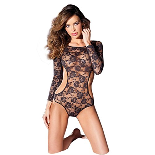 XILALU Women Sexy One-Pieces Lingerie Lace Dress Underwear Babydoll - Uv Uk Dresses