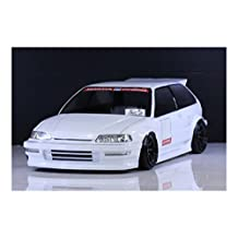 Pandora RC HONDA CIVIC EF9 1/10 RC Drift 198mm Clear Body Set #PAB-158