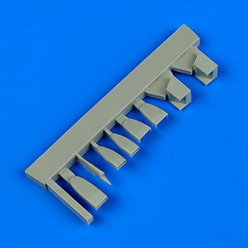 quickboost B01HZM9FGA 1 : 48 su-9 Fishpot Trumpeter Air Scoops for for Trumpeter – 樹脂更新# qb48 – 677 B01HZM9FGA, セレクトショップアン:1032f93e --- ijpba.info