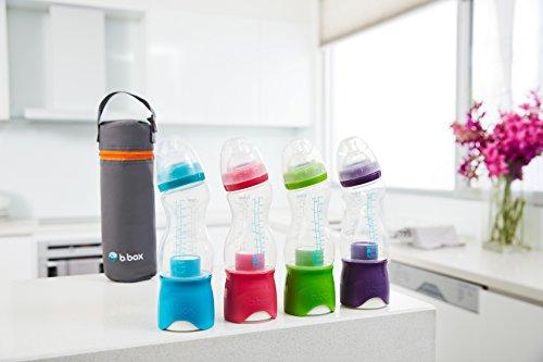 b.Box Microfibre Bottle Bag   for b.Box Bottle + Dispenser   Color: Grey   BPA-Free  Phthalates & PVC Free by Bbox (Image #2)