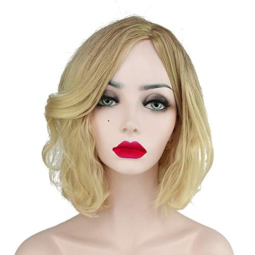 Infinity War Black Widow Wig Natasha Romanoff Golden Wig Cosplay and Halloween Wig