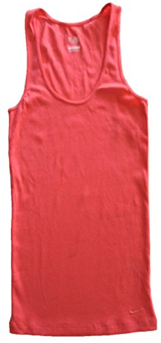 Nike Athletic Fitness Tank Top, Medium, Coral