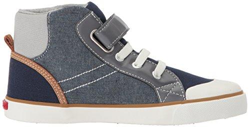 Pictures of See Kai Run Boys' Dane Sneaker, Chambray Multi, 7 M US Toddler 3