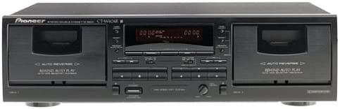 B00000K0J8 Pioneer CT-W404R Dual Cassette Deck (Discontinued by Manufacturer) 41T3Q721HVL.