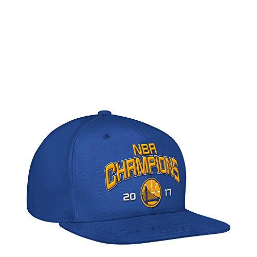 NBA Golden State Warriors Adult Men NBA Finals Champ Cap, One Size, Royal