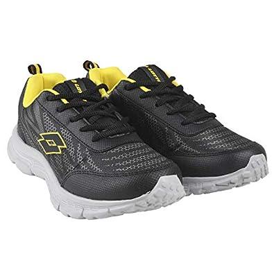Lotto Men's Callisto Grey/BLK/Yellow Training Shoes_UK/IND-10