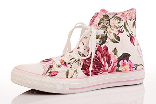 Trachten Damen Sneaker - ROSE - rosa Rosa