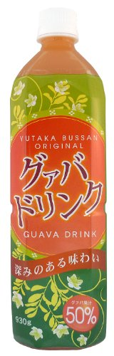 50% fruit juice beverages (guava ? 930g) X2 this by More Okinawa project